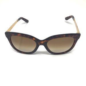 Sicky Brown Animal Print Cat Eye Sunglasses